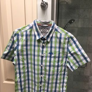 Men's Large Superdry collared button up